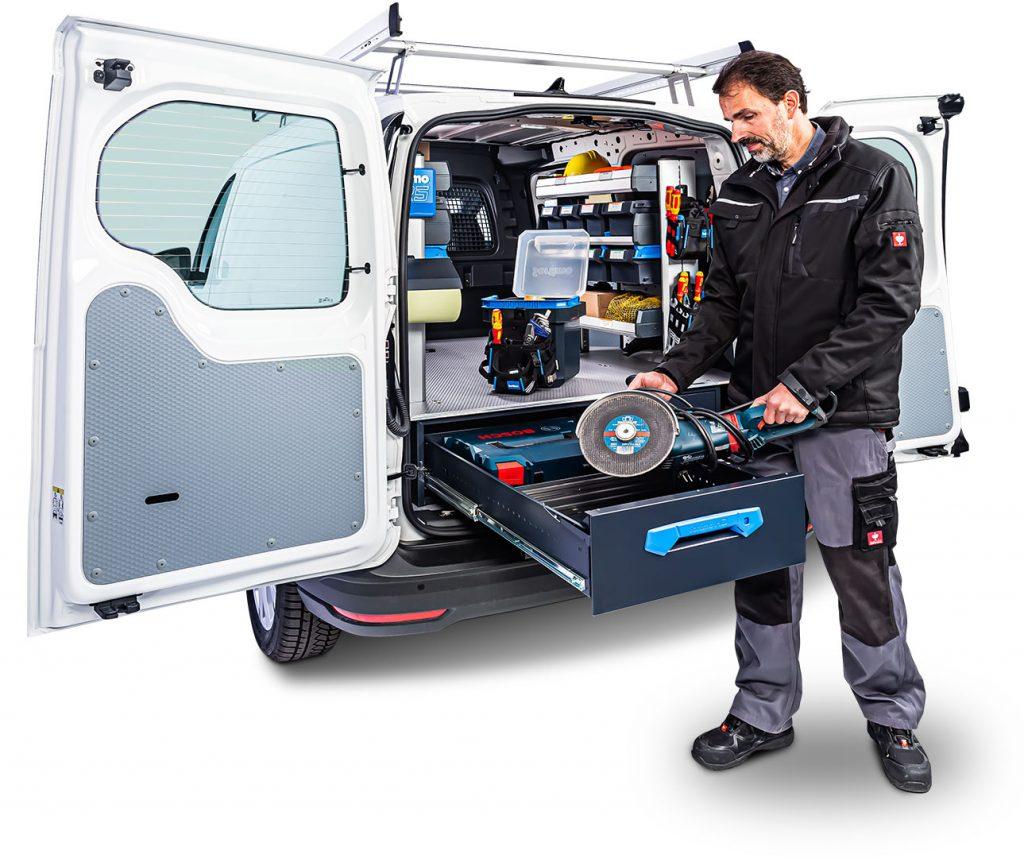 VW Caddy med Jumo-Unit
